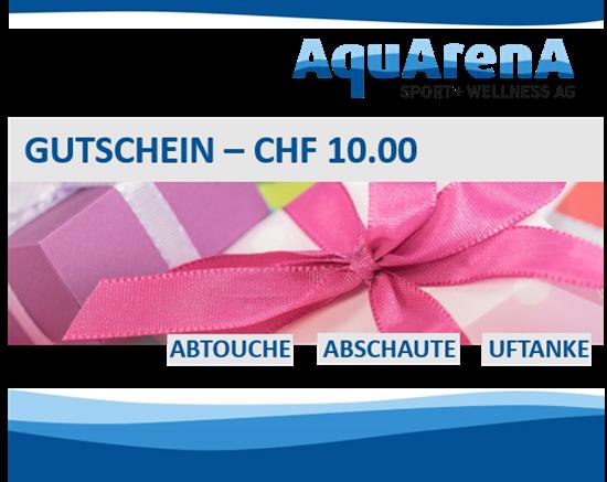 Bild von Gutschein CHF 10,-