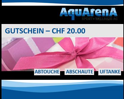 Bild von Gutschein CHF 20.-