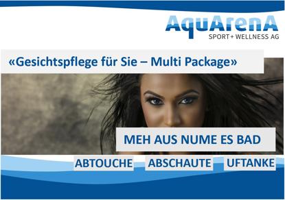 """Bild von Klassische Gesichtspflege für Sie """"Multi Package"""""""