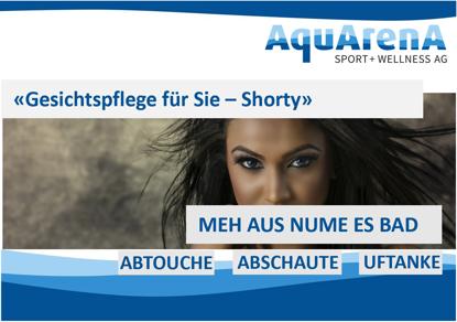 """Bild von Klassische Gesichtspflege für Sie """"Shorty"""""""