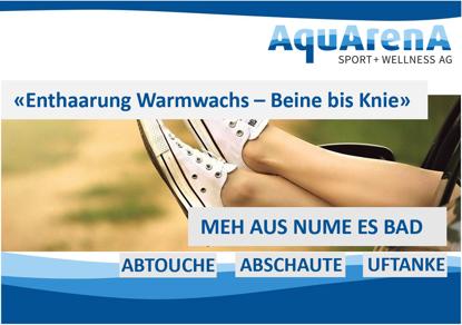 Bild von Enthaarung mit Warmwachs - Beine bis Knie