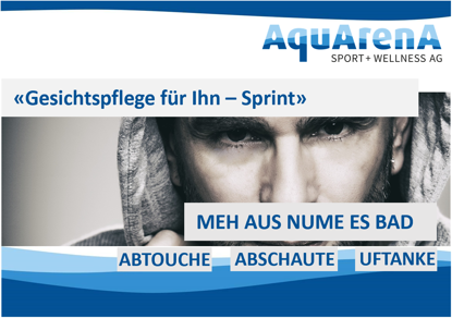 """Bild von Gesichtspflege für Ihn """"Sprint """""""